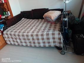 精选99平米三居卧室中式装修图