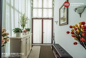 2019658平美式别墅玄关设计美图