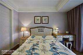 简约美式卧室背景墙装修