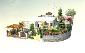 精装修房屋古典设计图片