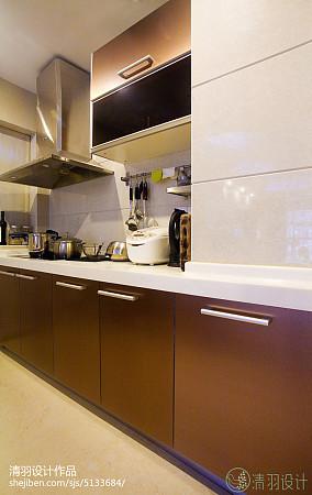 明亮56平现代二居装修装饰图