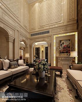 132平方新古典别墅客厅效果图片大全