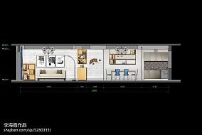 厨房白色墙砖图片