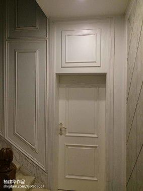 复古70平米别墅户型图片