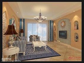 清爽70多平米的房子效果图