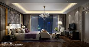 热门118平米新古典别墅卧室实景图片大全