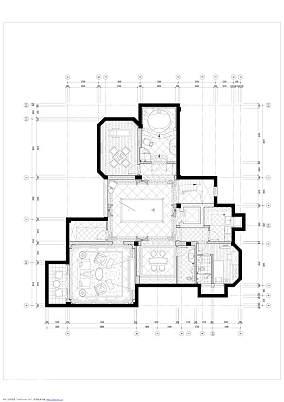 温馨819平欧式别墅美图别墅豪宅欧式豪华家装装修案例效果图