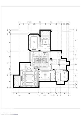 典雅831平欧式别墅图片大全别墅豪宅欧式豪华家装装修案例效果图