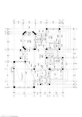 平欧式别墅效果图别墅豪宅欧式豪华家装装修案例效果图