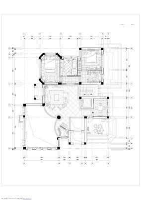 温馨787平欧式别墅装潢图别墅豪宅欧式豪华家装装修案例效果图