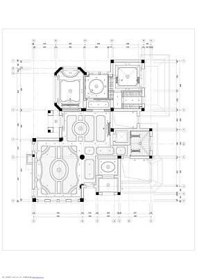 明亮847平欧式别墅设计美图别墅豪宅欧式豪华家装装修案例效果图