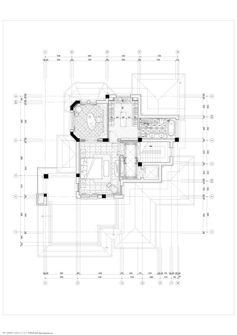 精致564平欧式别墅图片大全功能区欧式豪华功能区设计图片赏析