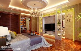 个性美式地中海风格卧室图