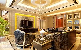 精美美式地中海风格卧室图