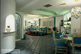 2018精选面积113平别墅客厅地中海装修图片客厅地中海设计图片赏析