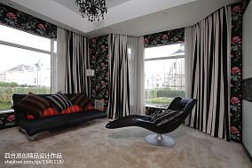 别墅休闲区中式装修效果图片