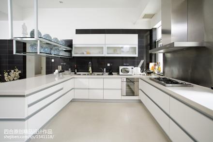 现代新中式厨房设计餐厅