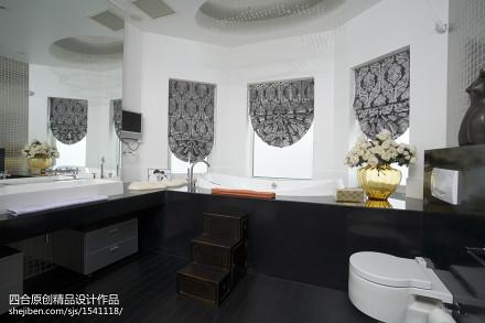 现代新中式卫浴设计卫生间