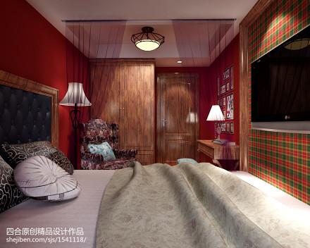 甘雨胡同老房改造地中海卧室2图