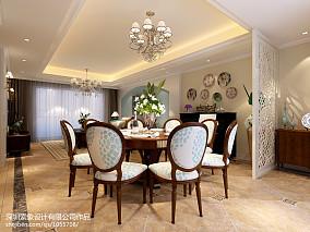 热门100平米三居厨房美式装修设计效果图片欣赏