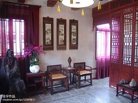 院子中式木门图片