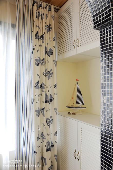 精美地中海三居阳台装修欣赏图片阳台