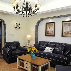 精选面积102平地中海三居客厅装修图片大全