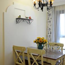 精美99平米三居餐厅地中海装饰图片