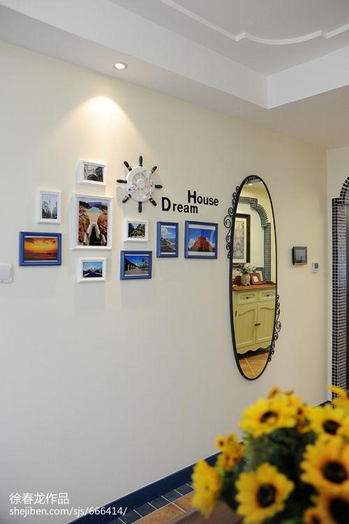 面积95平地中海三居餐厅欣赏图片大全厨房3图