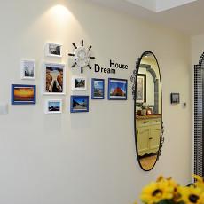 面积95平地中海三居餐厅欣赏图片大全