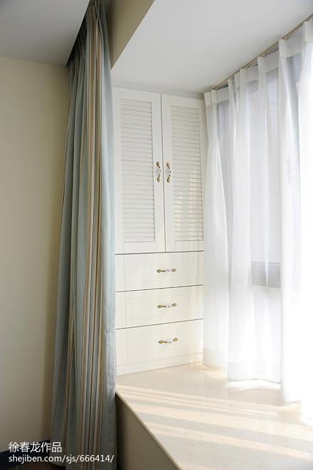 热门97平米三居卧室地中海装修实景图卧室