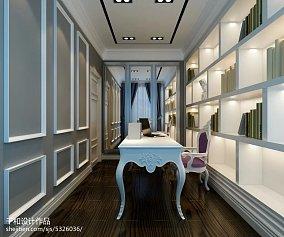 2018精选面积138平别墅书房现代装修实景图片大全