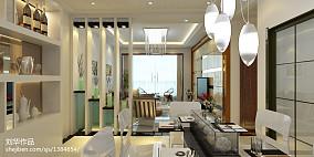现代简约沙发墙隔板造型