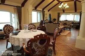 温暖美式风格别墅样板房图