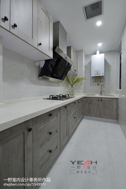 简约美式厨房装修设计效果图餐厅