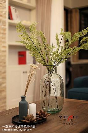 热门83平米二居客厅美式装修设计效果图