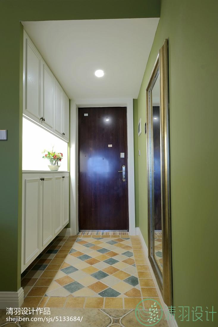 优雅137平美式四居装修图功能区美式经典功能区设计图片赏析