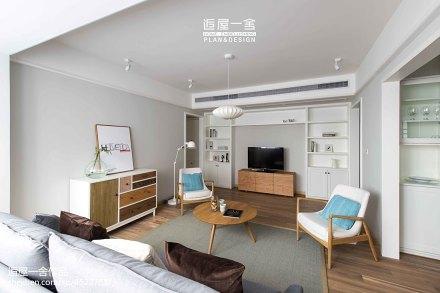 精致90平欧式三居客厅美图客厅