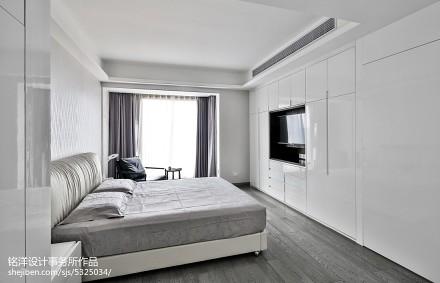 精选128平米四居卧室现代欣赏图片大全卧室