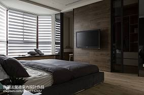 2018精选面积90平现代三居卧室装修效果图片