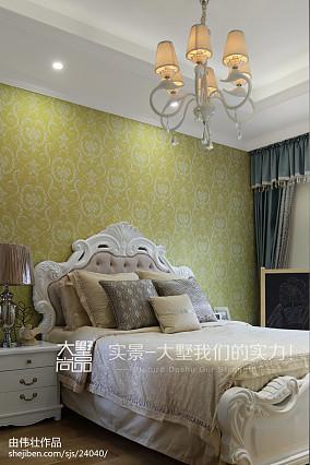 2018精选面积112平复式卧室欧式装修效果图片欣赏