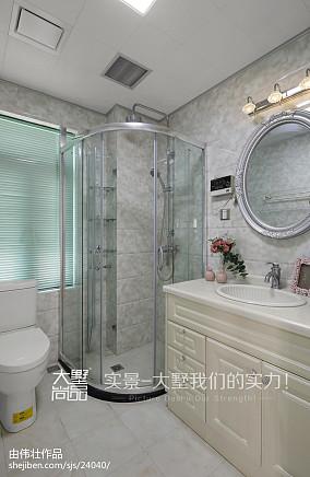 热门欧式复式卫生间欣赏图片