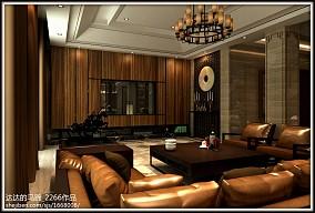 简约客厅木纹地板砖