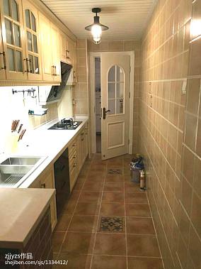 精美现代别墅厨房装修效果图片