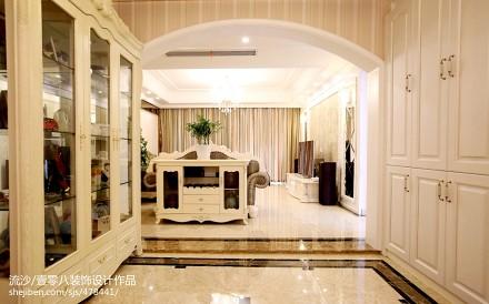 热门120平米四居休闲区欧式装修实景图片