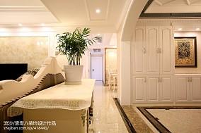 平欧式四居图片大全四居及以上欧式豪华家装装修案例效果图