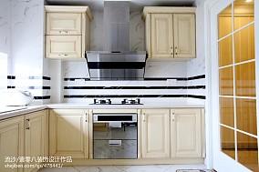 精选欧式四居厨房装修图片四居及以上欧式豪华家装装修案例效果图