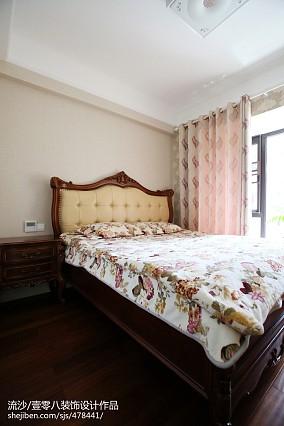 精选128平米四居卧室欧式装修设计效果图片四居及以上欧式豪华家装装修案例效果图