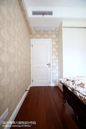 热门129平米四居卧室欧式装修实景图片欣赏四居及以上欧式豪华家装装修案例效果图