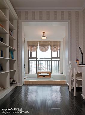 精美100平米三居书房欧式装饰图片大全三居欧式豪华家装装修案例效果图